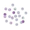 Confettis en papier iridescent