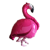 Ballon mylar flamant rose