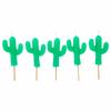 5 bougies anniversaire cactus