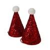 8 chapeaux pointus père Noël