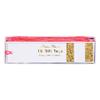 10 étiquettes cadeau blanches paillettes dorées