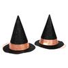 8 mini chapeaux de sorcière