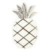 16 serviettes jetables ananas