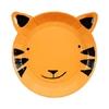 12 assiettes dessert tigre