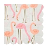 16 serviettes papier flamant rose