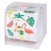 500 mini stickers thème tropical