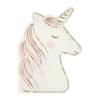 16 serviettes papier découpe licorne