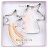 Set de 2 emporte-pièces licorne