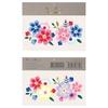 2 planches de tatouages fleurs Cachemire