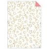 Rouleau de 3 feuilles de papier cadeau étoile filante
