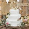 Cake topper en bois Love