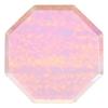 assiette-jetable-en-carton-irise-forme-octogonale-meri-meri