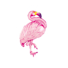 ballon-helium-flamant-rose-deco-fete-tropicale