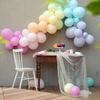 Guirlande de ballons Pastel rainbow