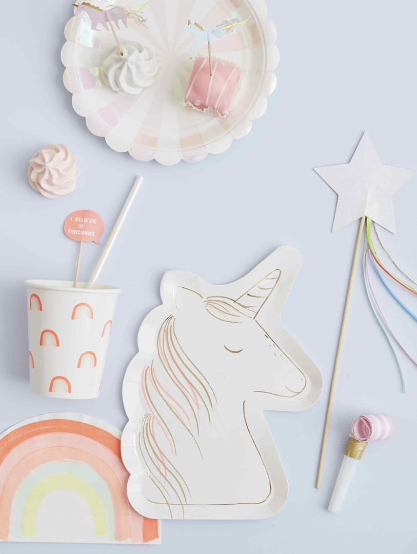 kit cupcake anniversaire licorne meri meri sweet party day. Black Bedroom Furniture Sets. Home Design Ideas