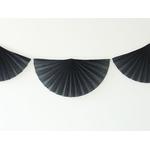 guirlande-en-papier-rosace-noire