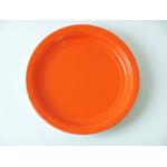 assiette-jetable-en-carton-orange