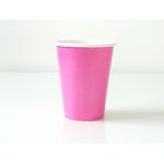 verre-en-carton-rose-vif