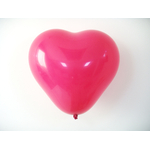 ballon-coeur-rose-fuchsia-latex