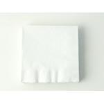 serviette-jetable-en-papier-blanc