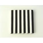 serviette-en-papier-raye-noir