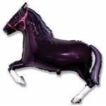 ballon-mylar-cheval-noir
