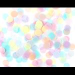 confetti-papier-de-soie-pastel