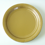 assiette-jetable-en-carton-dore