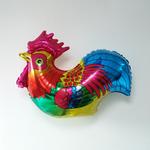 Ballon mylar coq