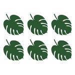 marque-place-feuille-tropicale-table-de-fete-hawai