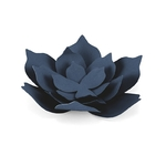 creation-fleurs-en-papier-bleu-marine