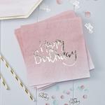 serviette-jetable-papier-rose-pastel-ombre-pour-anniversaire