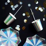 assiette-jetable-carton-argent-reflets-holographiques-meri-meri