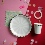 vaisselle-jetable-rose-girly-sweet-party-day