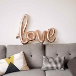 ballon-love-en-aluminium-rose-gold