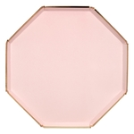 assiette-jetable-rose-blush-pastel-forme-octogonale-design-meri-meri