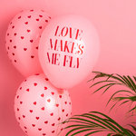 ballon-saint-valentin-evjf-love-makes-me-fly-en-latex-rose