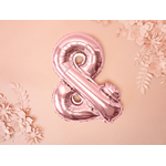 ballon-&-esperluette-rose-gold-pas-cher-mariage