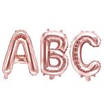 ballon-lettre-rose-gold-mariage-anniversaire