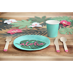 assiette-jetable-turquoise