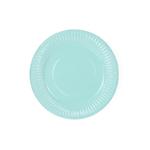 assiette-carton-turquoise