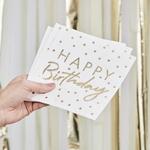 serviette-doree-anniversaire