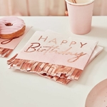 serviette-anniversaire-rose-gold