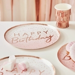 assiette-rose-happy-birthday