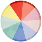 assiette-carton-multicolore