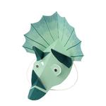 masque-dinosaure-vert