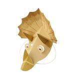 masque-dinosaure-jaune