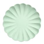 assiette-biodegradable-vert-menthe