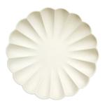 assiette-biodegradable-creme