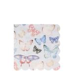 serrviette-papier-papillon